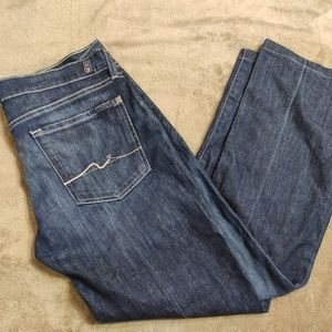 7 For All Mankind Womens Bootcut Jeans Size 31